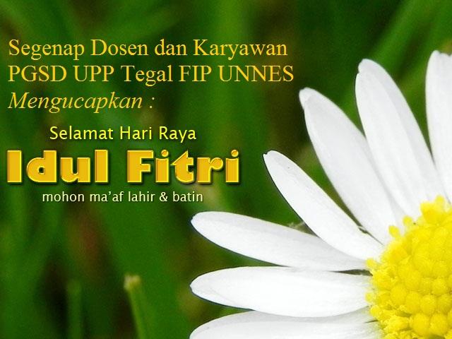 Ucapan Selamat Hari Raya Idul Fitri 1432H