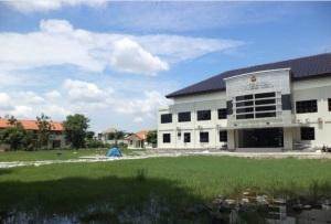 Kampus dan asrama mahasiswa