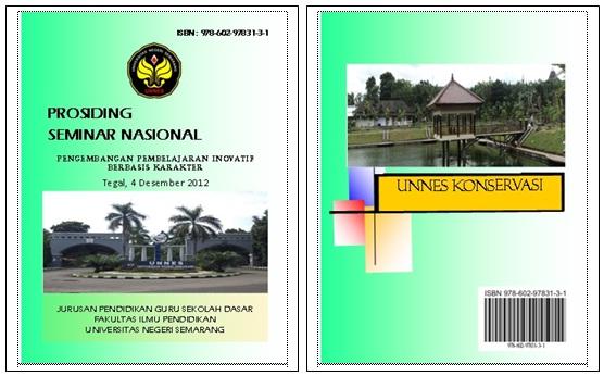 Cover depan dan belakang prosiding
